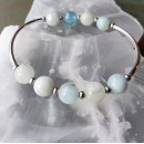 Stretchy Bracelet Kit Aquamarine