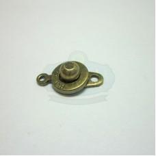 Antique Brass Ball Socket Clasp