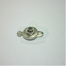 Silver Ball Socket Clasp