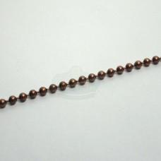 2.3mm Antique Copper Ball Chain