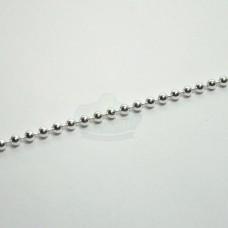 2.3mm Silver Ball Chain