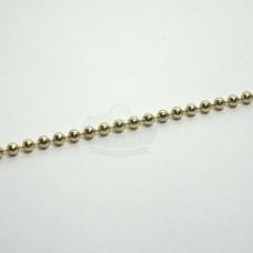 2.3mm Gold Ball Chain