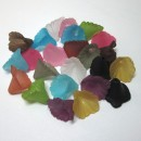 13 x 12mm Calla Lily Lucite Flower Color Mix